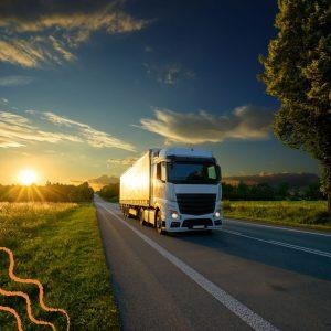 Vidros para caminhões